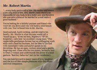 Mr Robert Martin