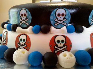 Skull cake2