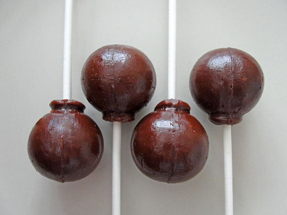 Belgian lollipops