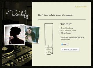 Feist drinkify