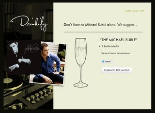 Michael buble drinkify