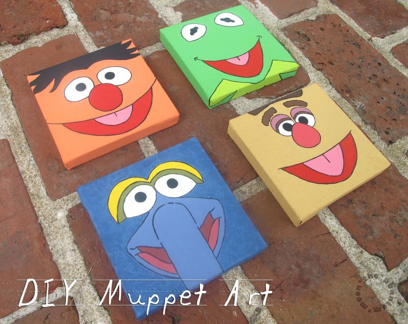 DIY Muppet Art