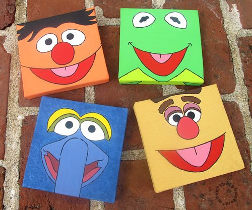 DIY Muppet Art2