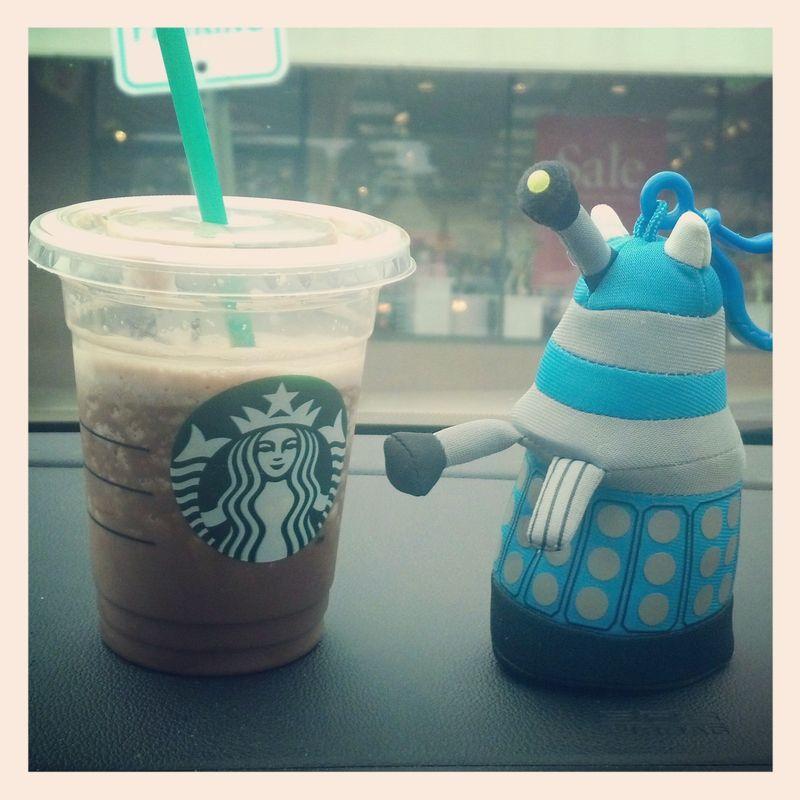 Starbucks Dalek
